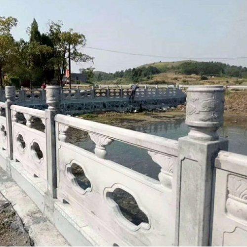 抛售仿大理石栏杆仿石护栏定做 水泥仿石护栏报价 丽景建材