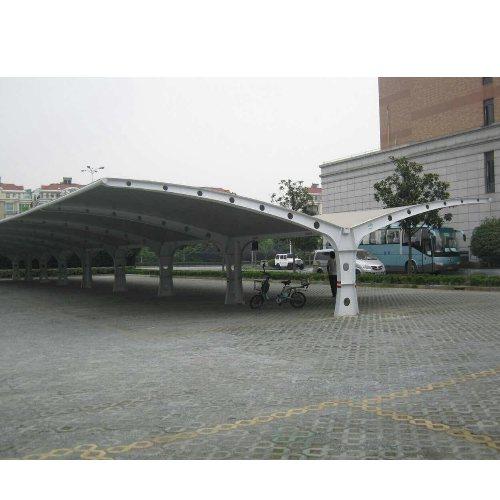绿地膜结构停车棚 山木景观 北京膜结构哪家好 临朐膜结构凉亭