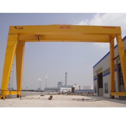 Mh5-32吨门式起重机市场价 MHE双葫芦门式起重机参数 鲁新