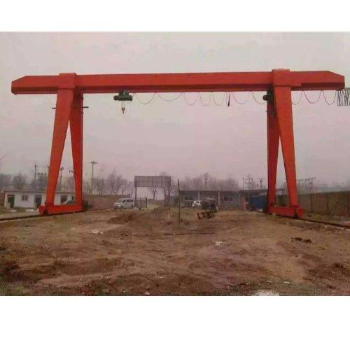 鲁新 MHE双葫芦门式起重机 BMH2-20吨门式起重机