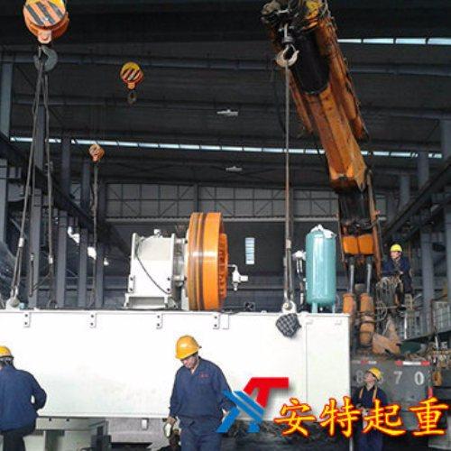 发电机组吊装服务价位 大型吊装服务公司 安特起重吊装