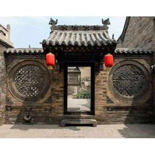 仿古式门楼施工 哪里有仿古式门楼施工 丰艺景观