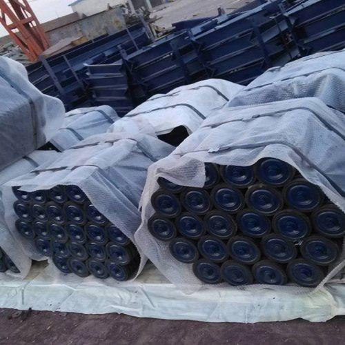 皮带输送机托辊组批发 天恩输送机械 托辊组厂商 槽型托辊组