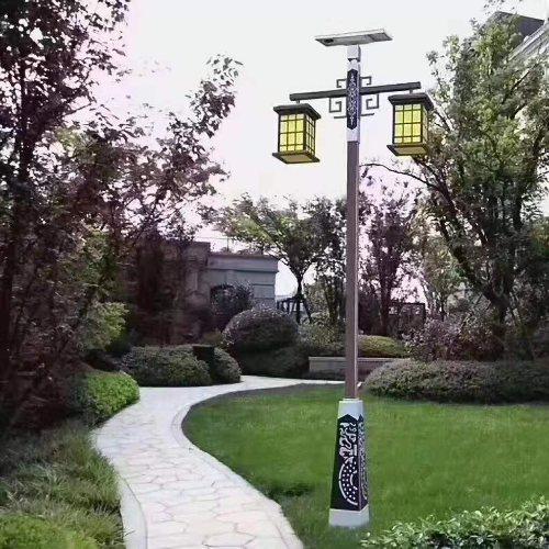 太阳能庭院灯厂价直销 玉盛太阳能庭院灯专业生产