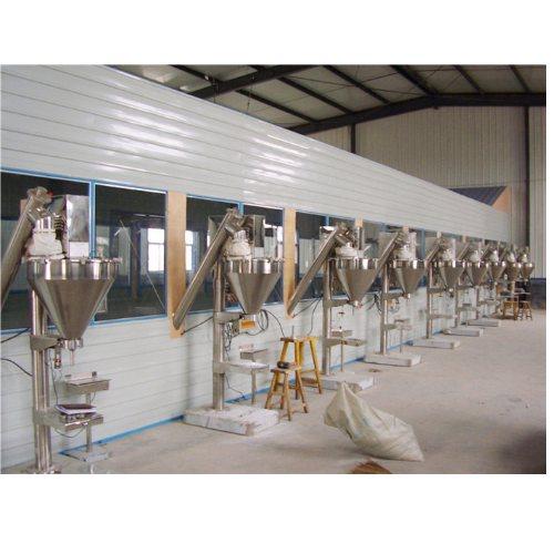 粉未粉剂包装生产线适合各种物料 元兴