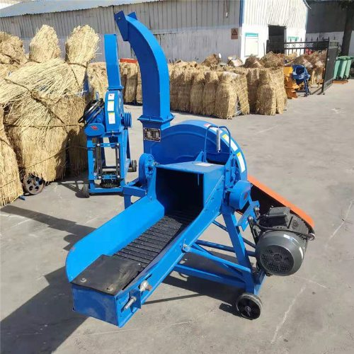 万盈 15吨铡草机操作简单 大型铡草机移动方便