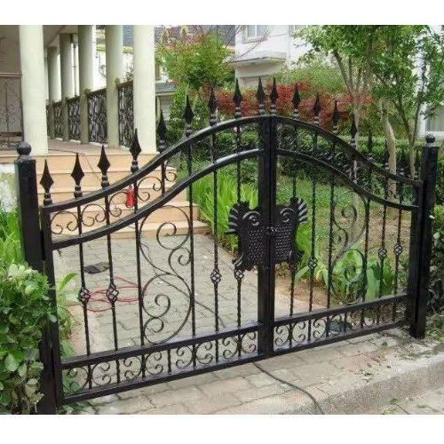 优质铁艺庭院大门供应 铁艺庭院大门供应商 平轩金属