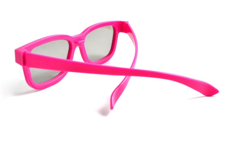 廠家直銷兒童款3d眼鏡被動式圓偏光兒童3d眼鏡電影院