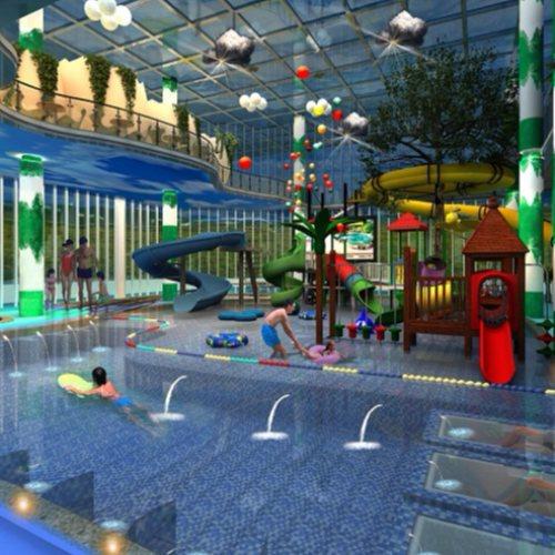儿童水上乐园恒温系统 水上乐园造浪 室内恒温水上乐园规划 御水