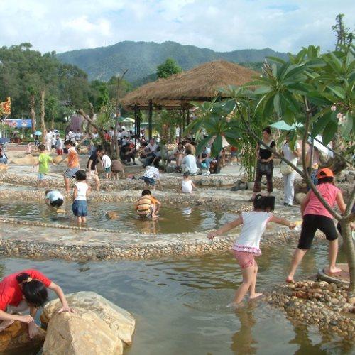 水上乐园 室内水上乐园小品 御水 温泉水上乐园改造