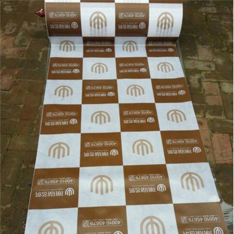 装饰公司地板保护膜批发 装修公司地板保护膜现货 兴顺