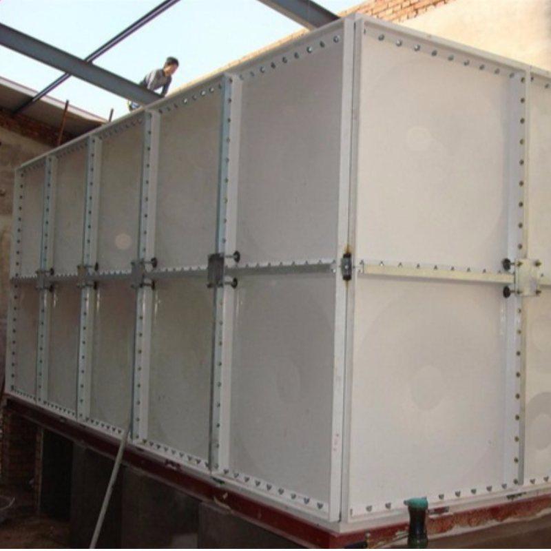 52吨玻璃钢模压水箱价位 中祥供货及时 60吨玻璃钢模压水箱多少钱
