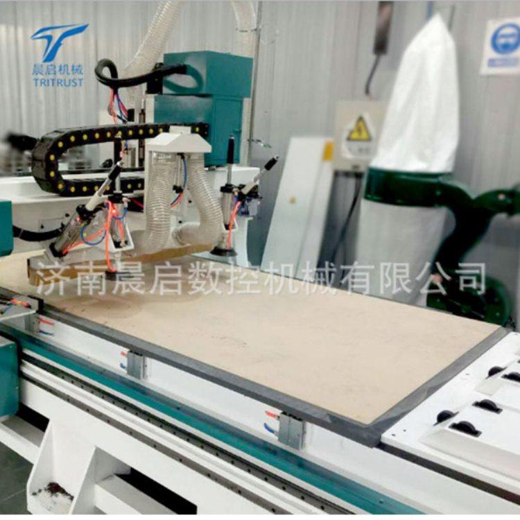 晨启数控 气动柜体开料机专业生产 板式柜体开料机厂家