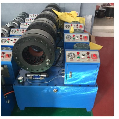 耐用锁管扣压机 宇星 耐用锁管扣压机厂家 优质胶管缩管机规格