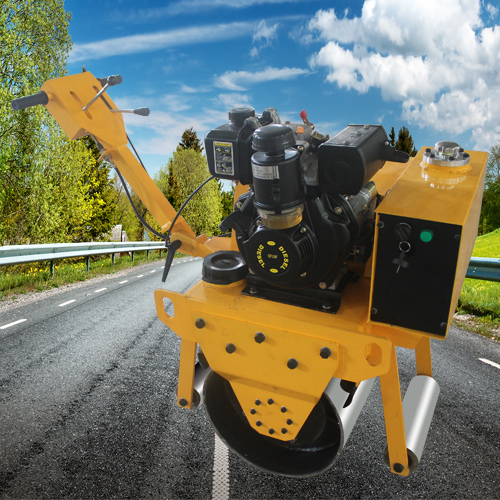 2吨手扶压路机品牌机械 双钢轮手扶压路机百度优选 通华