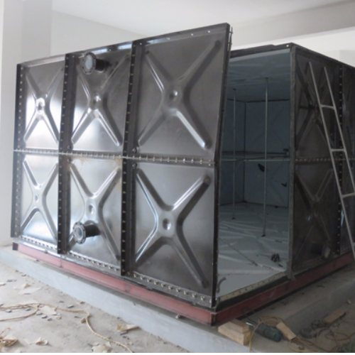 中祥供货及时 64吨搪瓷保温水箱供应商 60吨搪瓷保温水箱生产