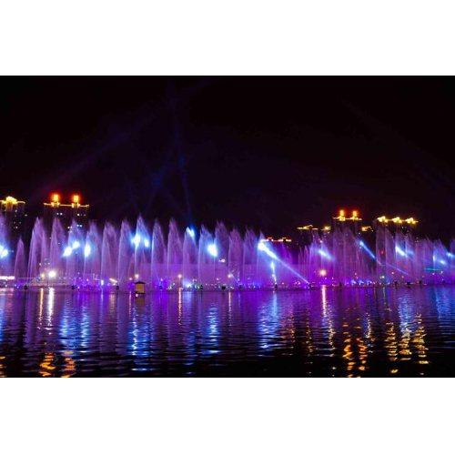 湿地声控喷泉 定制声控喷泉施工图 建洲园林 绿地声控喷泉
