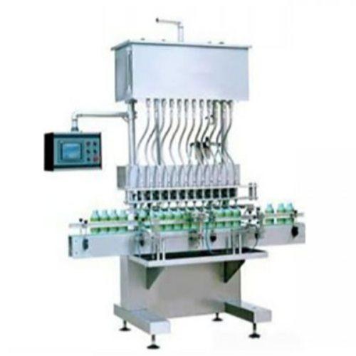恒鲁包装机械 农药灌装机设备自动贴标机瓶装农药灌装机