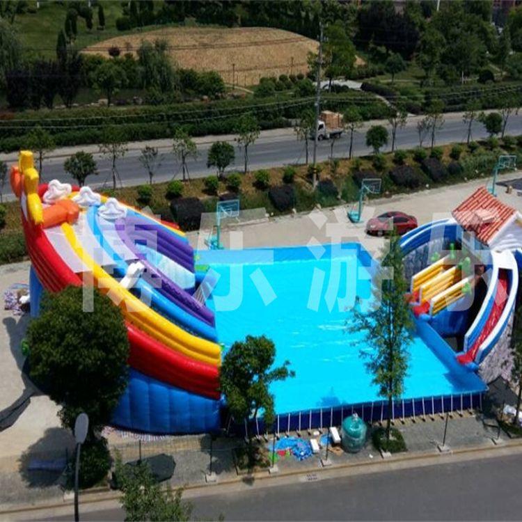 专业定制支架游泳池