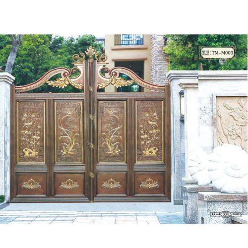 庭院大门订购 泰美 广州庭院大门厂 小区庭院大门订购
