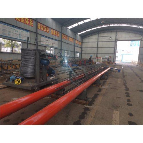 半自动钢筋滚笼机出售 钢筋滚笼机批发 路建机械