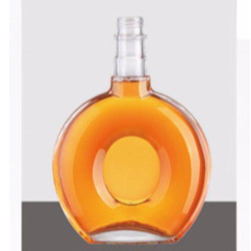 蒙砂玻璃酒瓶工厂直销 金诚 半斤装玻璃酒瓶现货