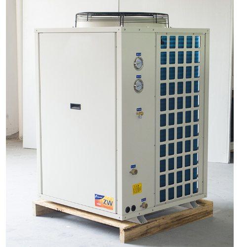 青海空气能热泵130模块机 格芬 青海空气能热泵供应
