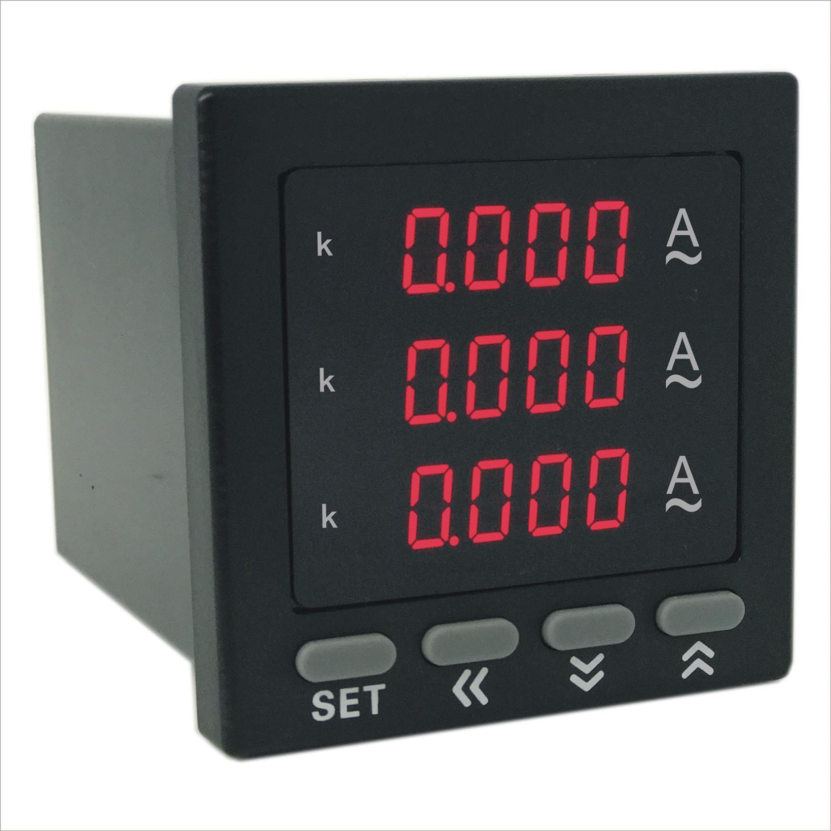AOB184Z-7X4-3I数字三相电流表特点 厂家直销质量保证 奥宾