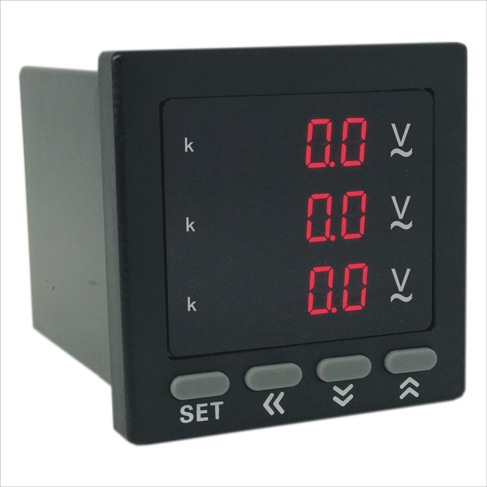 奥宾AOB184Z-9X4-3U数显三相电压表型号 技术服务强 奥宾