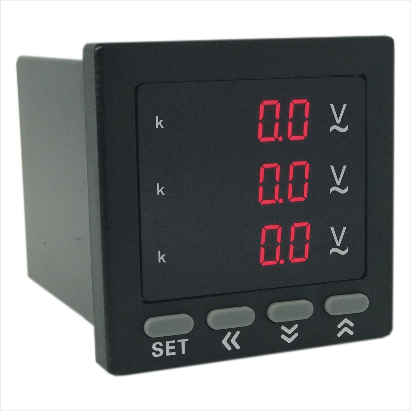 数显三相电压表质优价廉 技术服务强 奥宾