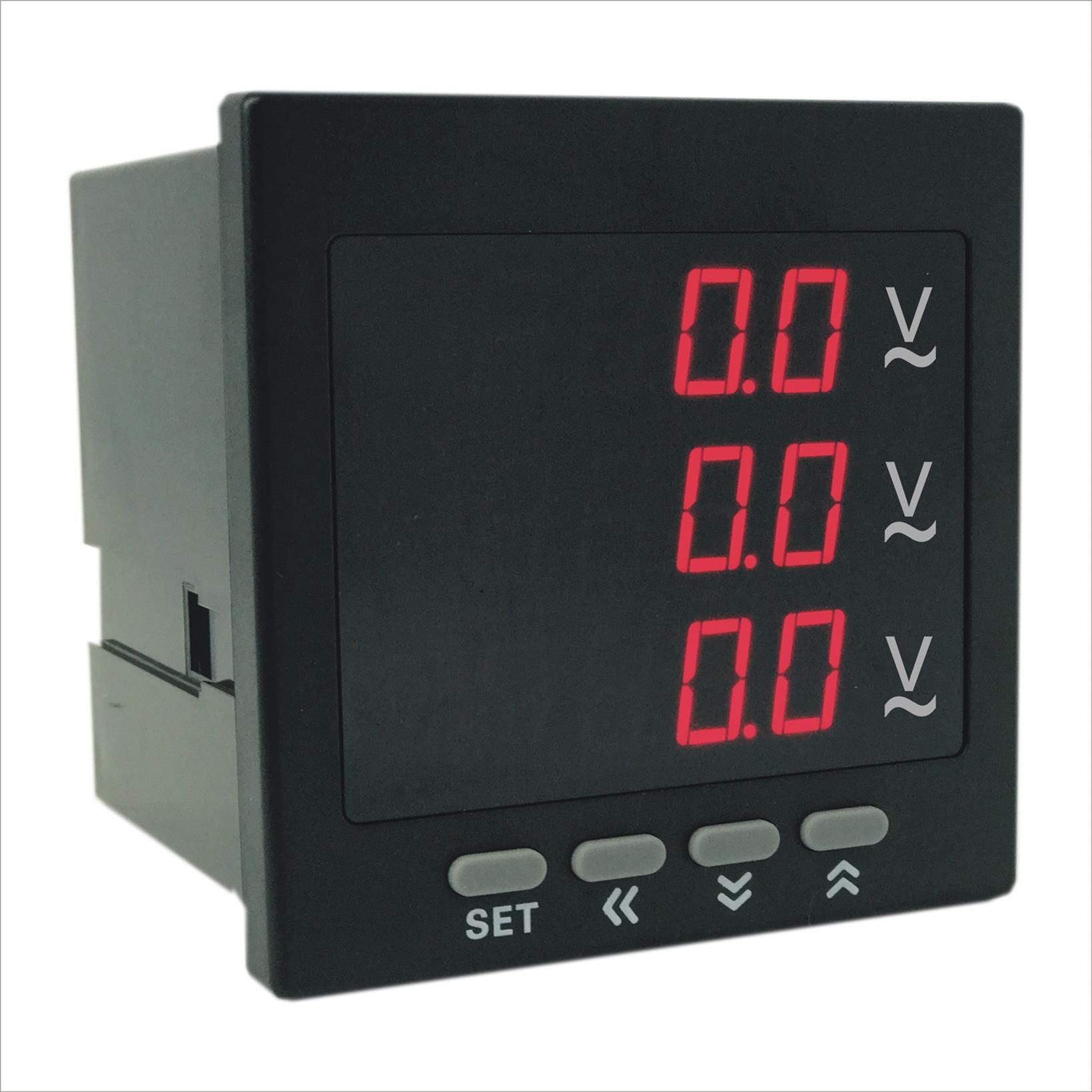AOB184Z-2X4-3U数字三相电压表厂家 奥宾