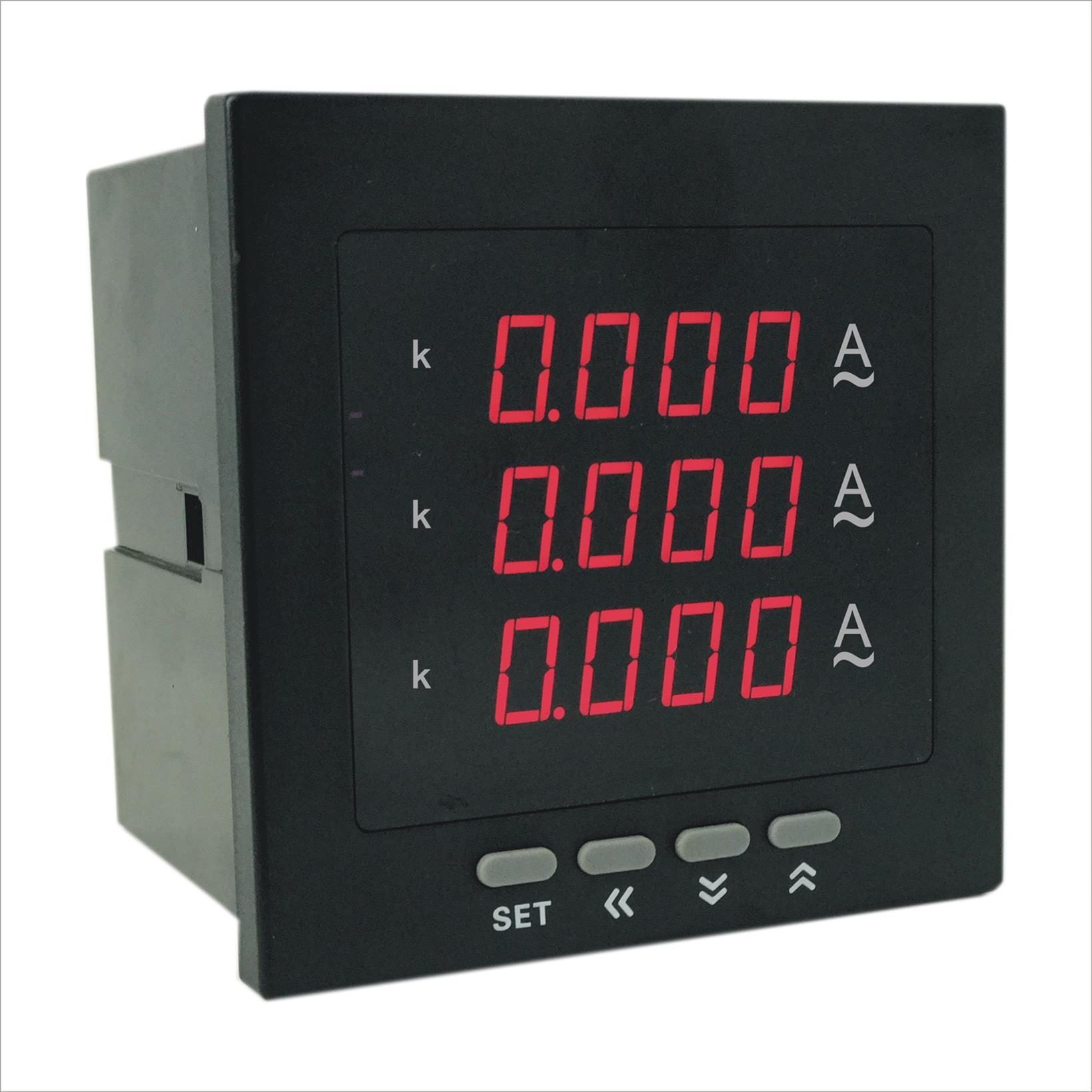 奥宾AOB184Z-3X4-3I数字三相电流表厂商 厂家直销质量保证 奥宾