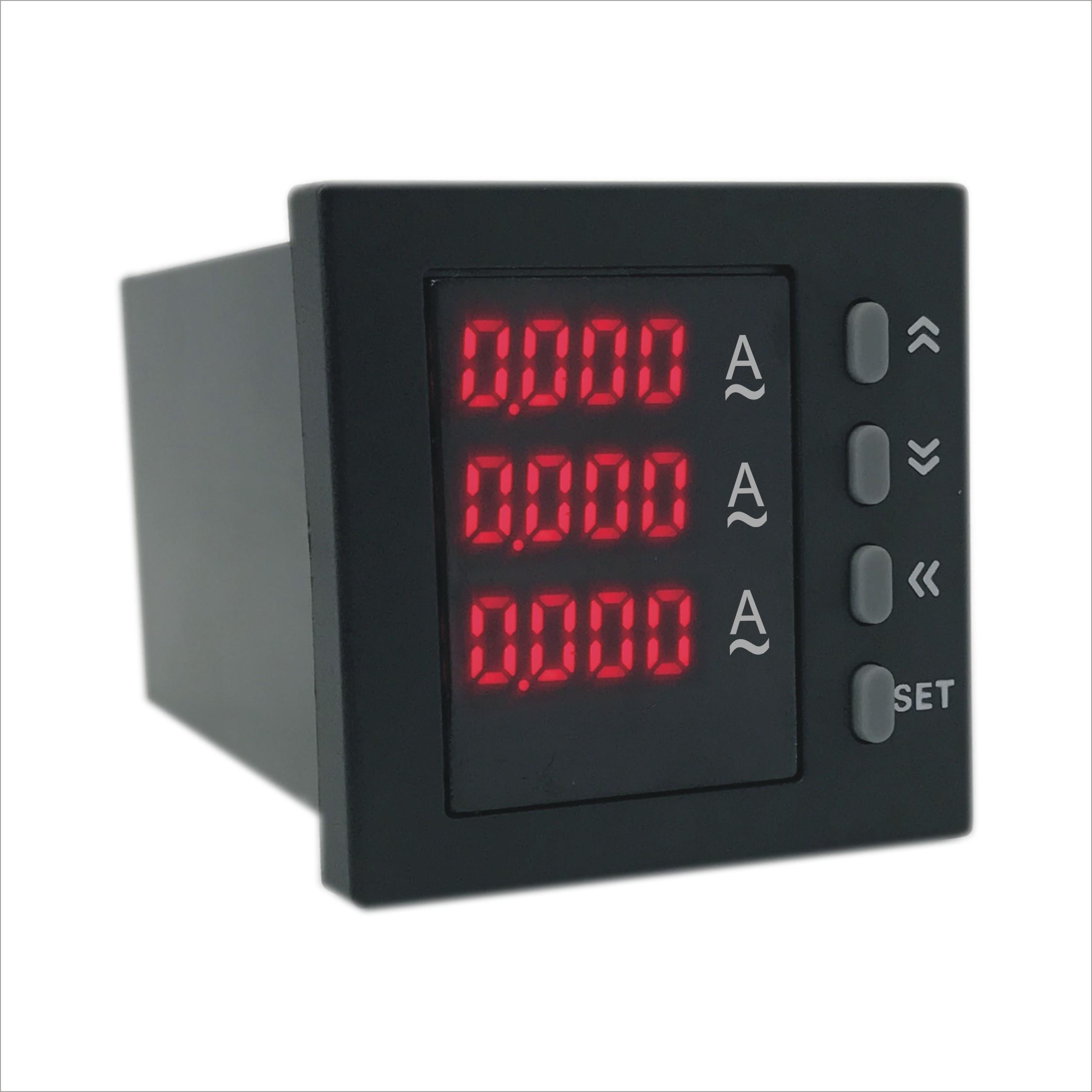 AOB394Z-3X4-3I智能数字三相电流表促销 厂家直销质量保证 奥宾