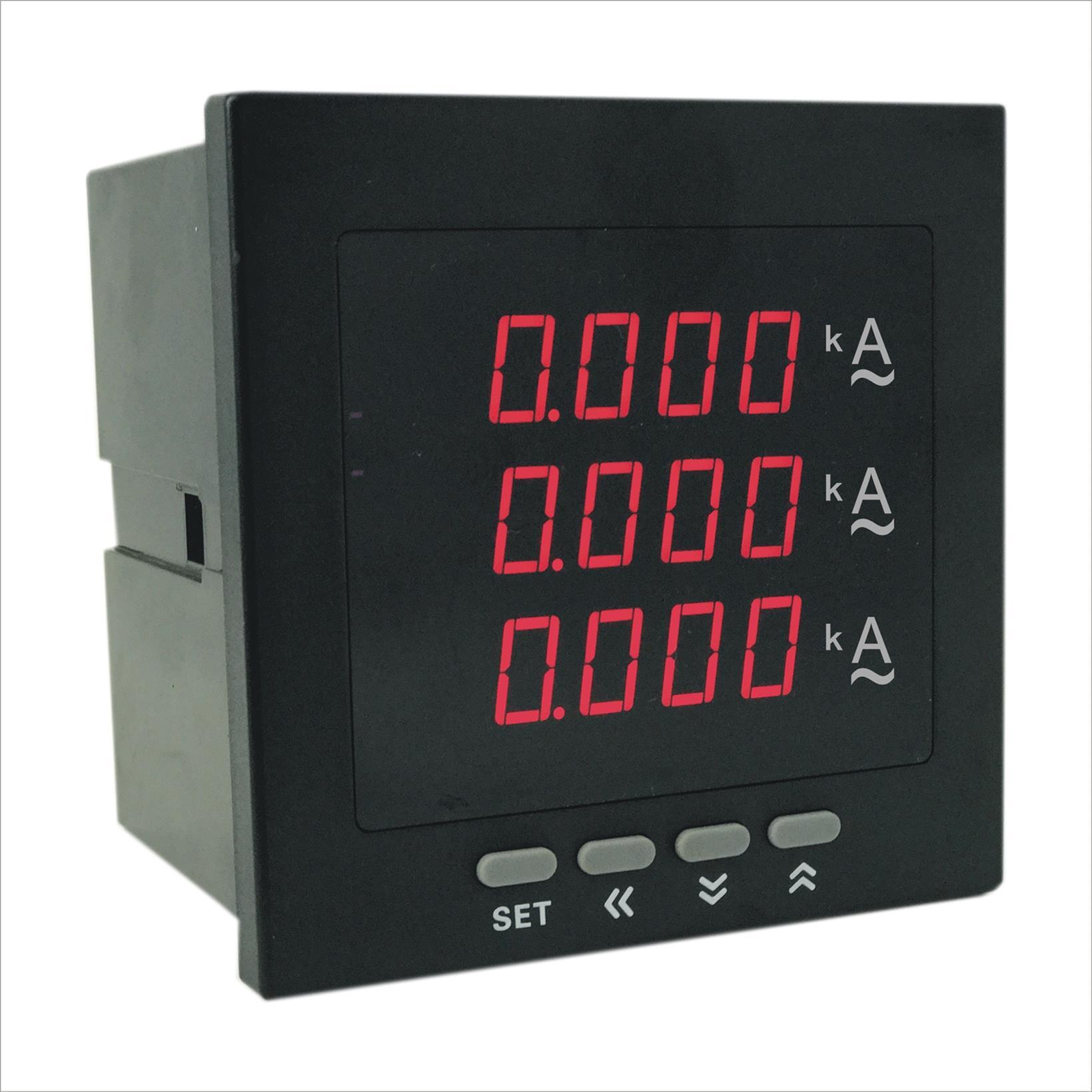 智能数字三相电流表出售 厂家直销质量保证