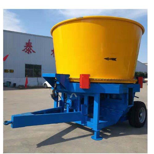 圆盘式粉碎机效果 圣强机械 全自动草捆粉碎机厂商
