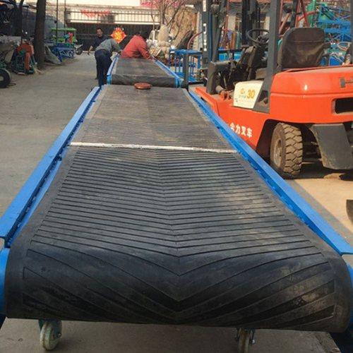 煤矿皮带式输送机出售 国友 6米皮带式输送机