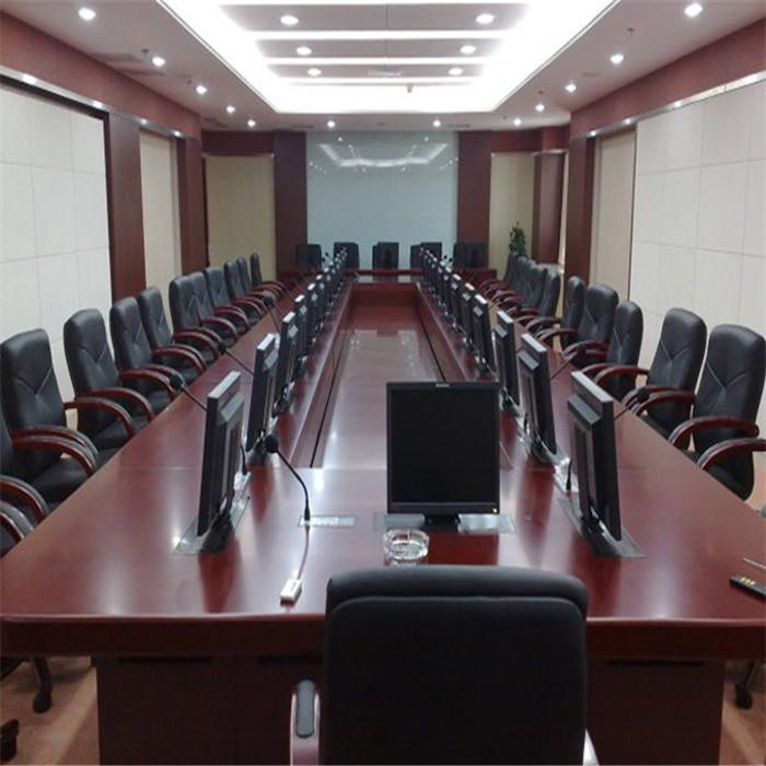 电动升降会议桌供应商 销售电动升降会议桌 志欧