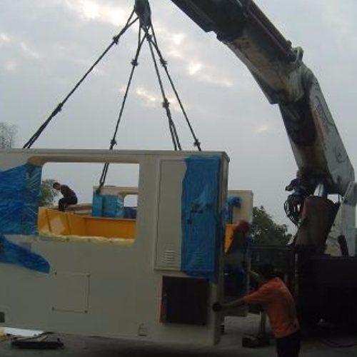 起重吊装 发电机组设备搬迁服务 大件设备搬迁