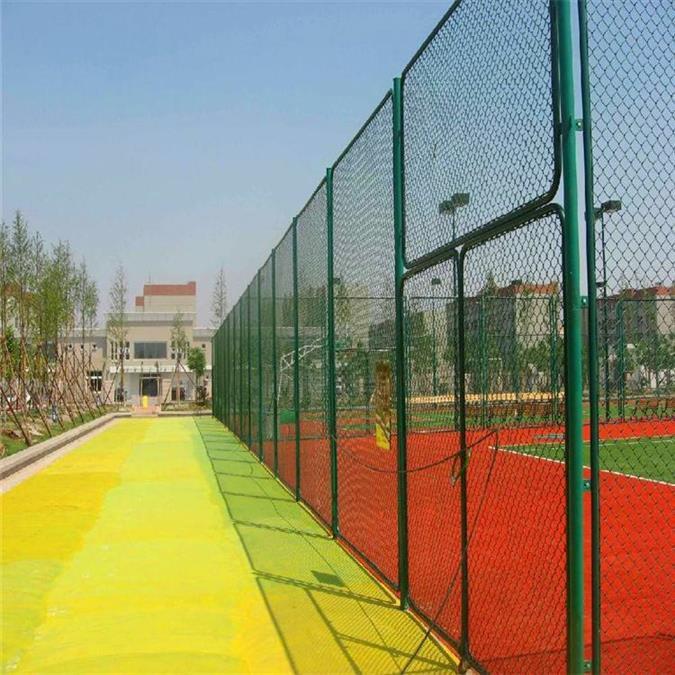 常州球场护栏规格 体育场护栏 篮球场网球场围网