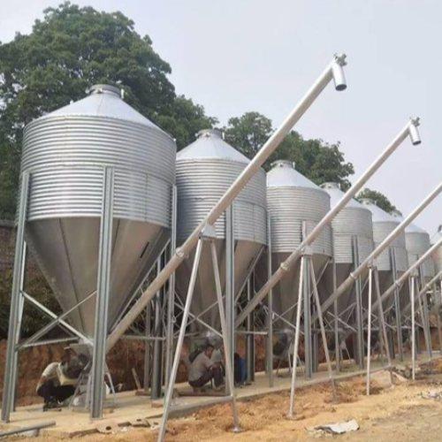 养猪场料线生产 养猪场料线 德力 绞龙料线塞盘