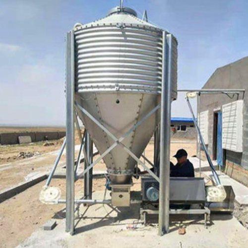 养猪场料线主机 自动化料线设备 猪场料线配件 德力
