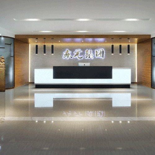 启成广告设计制作 前台接待logo墙制作 集团企业logo墙