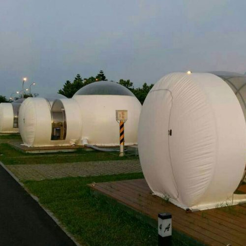 乐飞洋 户外居住泡泡屋透明半圆帐篷展销