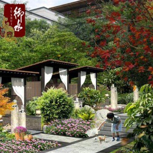 新中式温泉景观规划 御水 欧式温泉景观规划设计