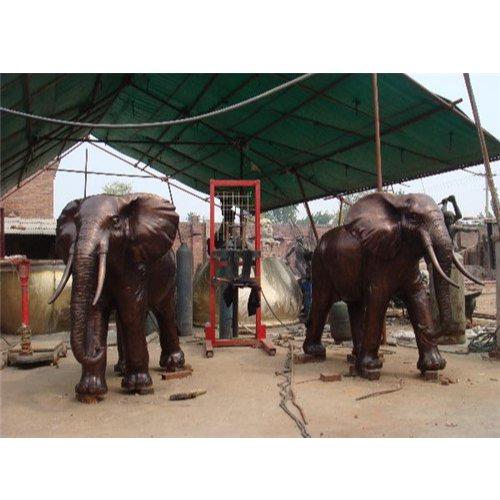 大型保定风水铜大象 宏达雕塑 保定风水铜大象