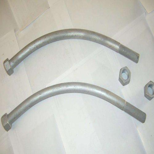 双头弧形管片螺栓批发价 管片螺栓价格 美如紧固件