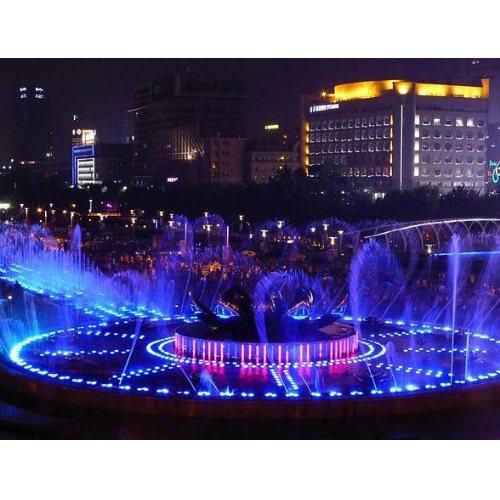 建洲园林 山东声控喷泉施工图 声控喷泉设计 潍坊声控喷泉图片