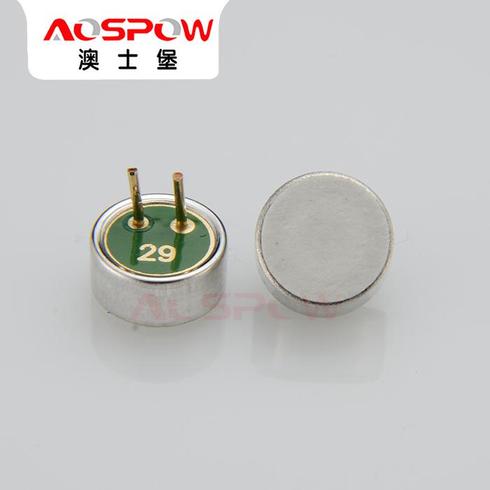 动圈式咪芯 驻极体咪芯供应商 单指向咪芯生产 澳士堡