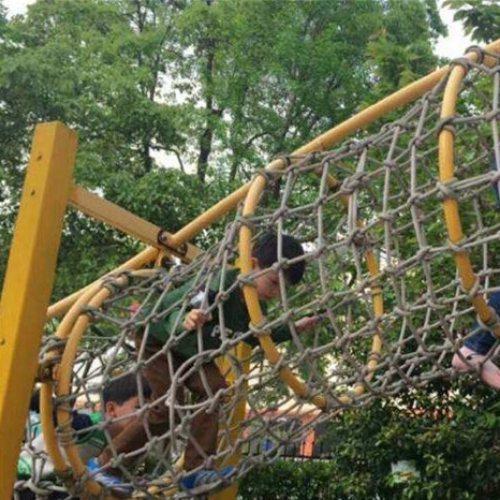 儿童攀岩游乐设施 重庆美奇游乐设施 小区儿童攀岩游乐设施定制