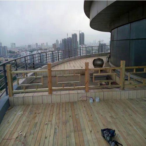 阳台户外木地板每平米造价多少 景致木业 庭院户外木地板销售